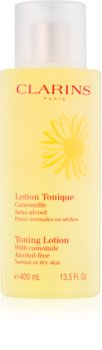 Clarins Toning Lotion with Camomile тонізуюча вода - догляд з екстрактом ромашки для нормальної та сухої шкіри