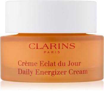 Clarins Daily Energizer Cream creme de dia iluminador com efeito hidratante para pele normal e seca