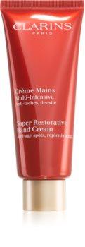 Clarins Super Restorative Hand Cream κρέμα χεριών αποκατάστασης της ελαστικότητας της επιδερμίδας
