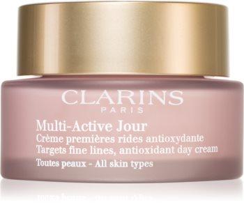Clarins Multi-Active crema giorno antiossidante contro i primi segni di invecchiamento della pelle