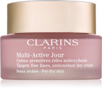 Clarins Multi-Active crème de jour antioxydante pour peaux sèches