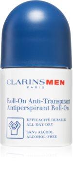 Clarins Men Antiperspirant Roll-On антиперспирант с шариковым аппликатором без алкоголя