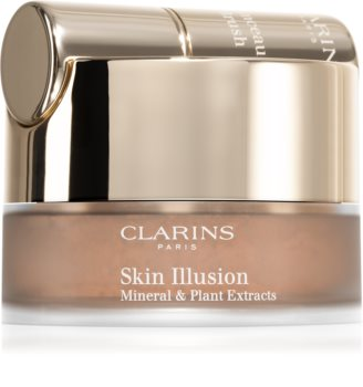 Clarins Skin Illusion Loose Powder Foundation Грим на прах с четка