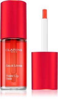 Clarins Water Lip Stain гланц за устни с матиращ ефект с хидратиращ ефект