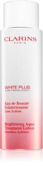 Clarins White Plus Pure Translucency Brightening Aqua Treatment Lotion освітлююча тонізуюча вода зі зволожуючим ефектом