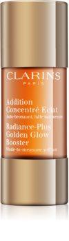 Clarins Radiance-Plus Golden Glow Booster gotas autobronzeadoras para rosto