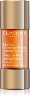 Clarins Radiance-Plus Golden Glow Booster önbarnító cseppek az arcra