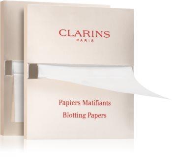 Clarins Blotting Papers papírky na zmatnění náhradní náplň