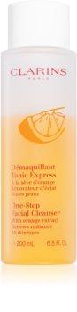 Clarins One-Step Facial Cleanser lozione tonica viso struccante e detergente