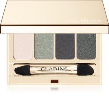 Clarins 4-Colour Eyeshadow Palette палитра от сенки за очи