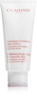Clarins Exfoliating Body Scrub For Smooth Skin hidratáló testpeeling a finom és sima bőrért