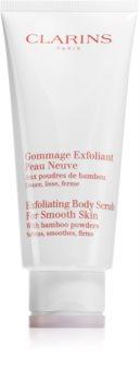 Clarins Exfoliating Body Scrub for Smooth Skin peeling corporal hidratante para pele fina e lisa