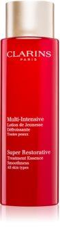 Clarins Super Restorative Treatment Essence emulsie hidratanta pentru strălucirea și netezirea pielii