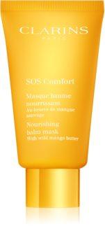 Clarins SOS Comfort Nourishing Balm Mask maschera nutriente per pelli molto secche
