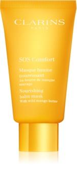 Clarins SOS Comfort Nourishing Balm Mask tápláló maszk nagyon száraz bőrre