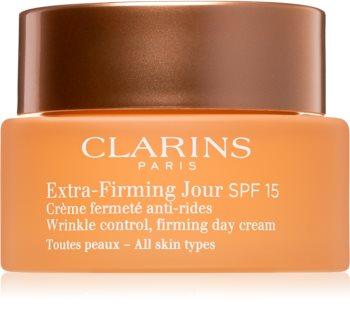 Clarins Extra-Firming Day денний крем для відновлення пружності шкіри