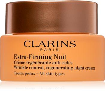 Clarins Extra-Firming Night feszesítő éjszakai krém regeneráló hatással minden bőrtípusra