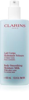 Clarins Body-Smoothing Moisture Milk with Aloe Vera Lindrende og fugtgivende lotion