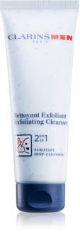 Clarins Men Wash esfoliante detergente viso 2 in 1