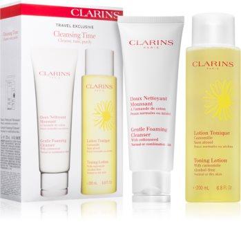 Clarins Cleansers kit di cosmetici (per pelli normali e miste)