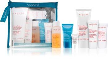 Clarins Head To Toe Moisturizing Essentials kit da viaggio