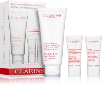 Clarins Body Hydrating Care kozmetika szett IV. hölgyeknek