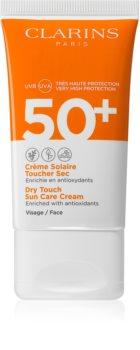 Clarins Dry Touch Sun Care Cream krém na opalování SPF 50+
