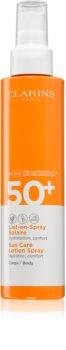 Clarins Sun Care Lotion Spray napvédő spray SPF 50+