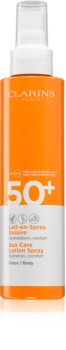 Clarins Sun Care Lotion Spray Protective Sunscreen Spray SPF 50+