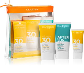 Clarins Summer Essentials козметичен комплект (против слънчеви лъчи )