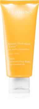 Clarins Tonic Moisturizing Balm ošetrujúci telový balzam s esenciálnymi olejmi