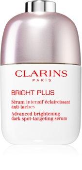 Clarins Bright Plus Advanced dark spot-targeting serum fényesítő hatású arcszérum a sötét foltok ellen