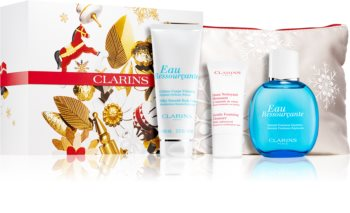 Clarins Eau Ressourcante Gift Set (for Soft and Smooth Skin) for Women
