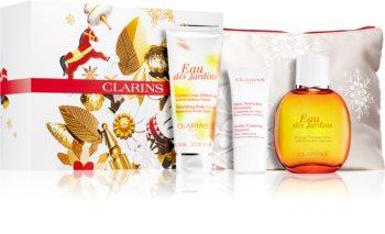 Clarins Eau Des Jardins kozmetika szett (a finom és sima bőrért) hölgyeknek