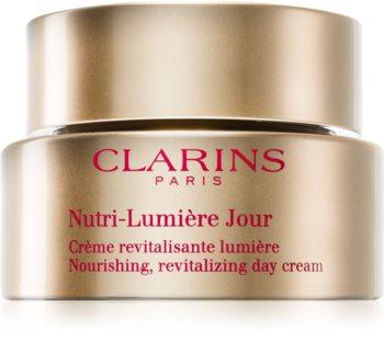 Clarins Nutri-Lumière Day rewitalizujący krem na dzień nadający skórze promienny wygląd
