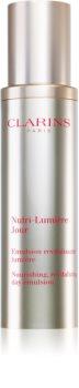 Clarins Nutri-Lumière Day ревитализираща емулсия за лице против бръчки и тъмни петна