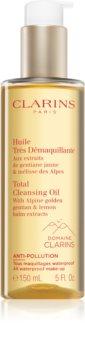 Clarins Total Cleansing Oil tisztító és sminklemosó olaj