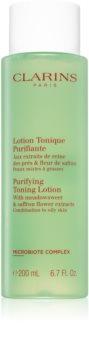 Clarins Purifying Toning Lotion tonic pentru curățarea și ingrijirea tenului
