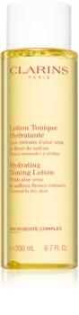 Clarins Hydrating Toning Lotion osvěžující hydratační tonikum