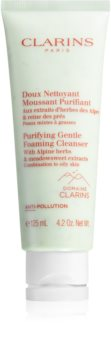 Clarins Purifying Gentle Foaming Cleanser Gentle Exfoliating Foaming Cream