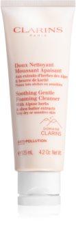 Clarins Soothing Gentle Foaming Cleanser почистваща крем- пяна за успокояване на кожата