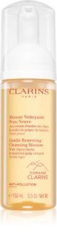 Clarins Gentle Renewing Cleansing Mousse demachiant spumant delicat