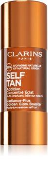 Clarins Self Tan Radiance-Plus Golden Glow Booster samoopalovací přípravek na obličej