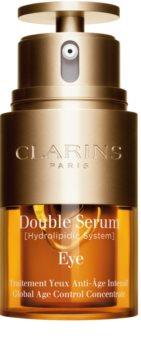 Clarins Double Serum Eye Crema anti-rid pentru zona ochilor cu efect de nutritiv