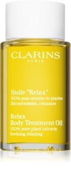 Clarins Relax Body Treatment Oil расслабляющее масло для тела с растительными экстрактами