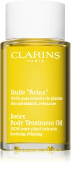 Clarins Tonic Body Treatment Oil Rentouttava Vartaloöljy Kasviuutteen Kanssa