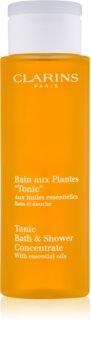 Clarins Tonic Bath & Shower Concentrate sprchový a kúpeľový gél s esenciálnymi olejmi