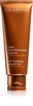 Clarins Self Tanning Instant Gel гель для автозасмаги з миттєвим ефектом