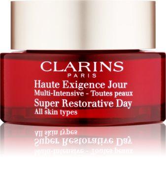 Clarins Super Restorative Day crema de zi pentru fermitate pentru toate tipurile de ten