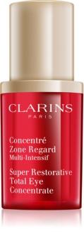 Clarins Super Restorative ujędrniające serum pod oczy przeciw zmarszczkom, opuchnięciom i cieniom pod oczami